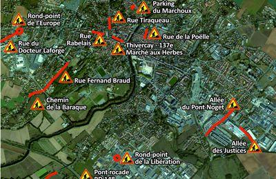 Voirie : tour d'horizon des travaux à venir à Fontenay le Comte