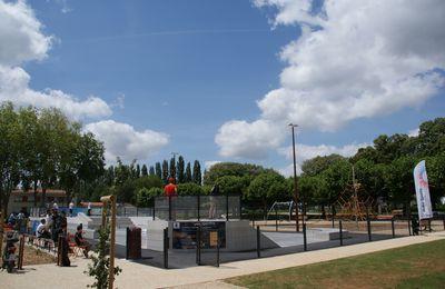 Skatepark : la glisse urbaine a son espace à Fontenay le Comte...