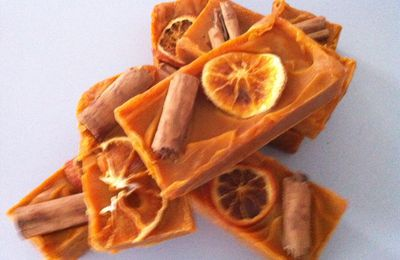 Spicy Orange Soap (ou Tenshi se lance dans la savonnerie)