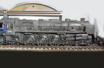 Maquette Locomotive Mountain Est 241