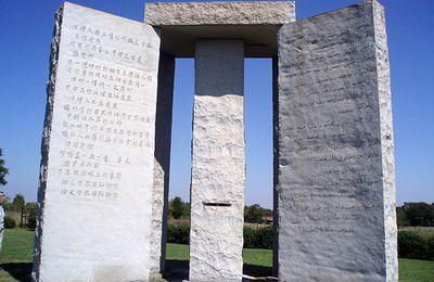 Ein Monument, die Menschheit zu leiten...