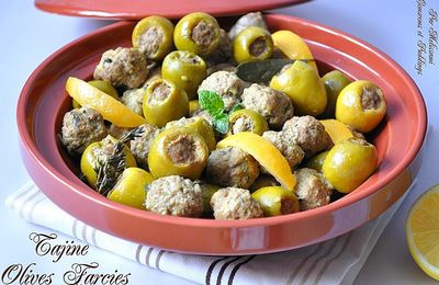 Stuffed olives tagine - Tagine zitoune -