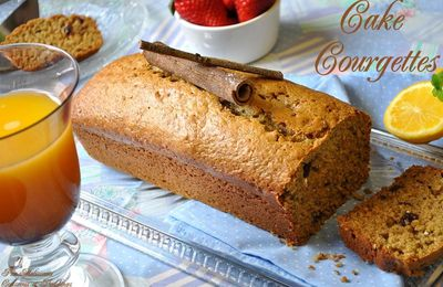 Courgette cake - very moist -