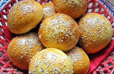 Chrik - Algerian brioches with sesame seeds