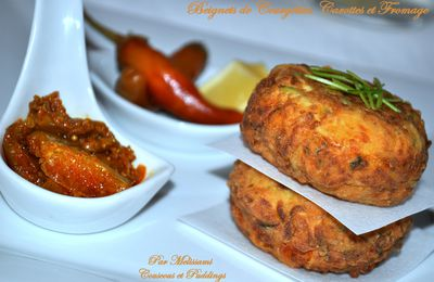 Courgette and Carrot Fritters
