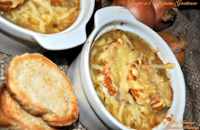 French Onion Soupe