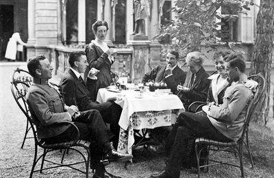 L'artiste et la famille du philosophe : Gustav Klimt, Gretl et Ludvig Wittgenstein