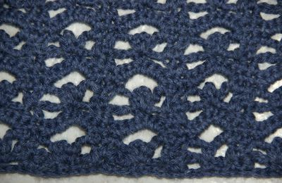 CROCHET : Tutoriel point ajouré