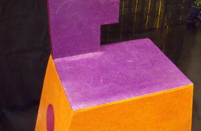 sièges en carton