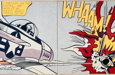 Anglais, les langages : Whaam! Roy Lichtenstein, 1963