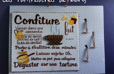 Confiture de lait - ma finition