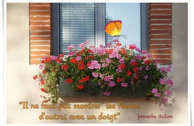 Citation/ Proverbe