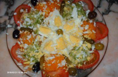 salade fraiche du printemps