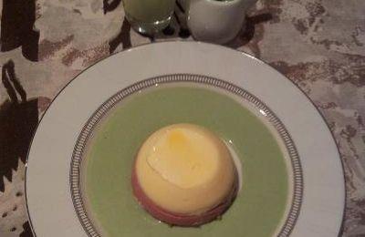 """ABSINTHEVENT crée son dessert à l'Absinthe : """"Coiffe Bohémienne et sa Robe Emeraude"""""""