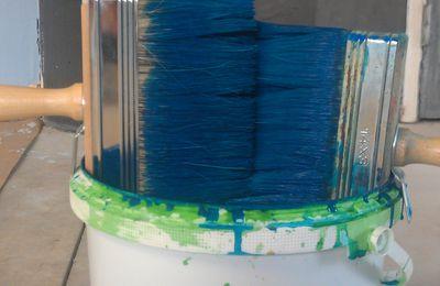 Color Rare: stage de badigeon de chaux.