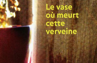 Le vase où meurt cette verveine, Frédérique Martin