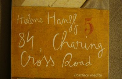84, Charing Cross Road- Helene Hanff
