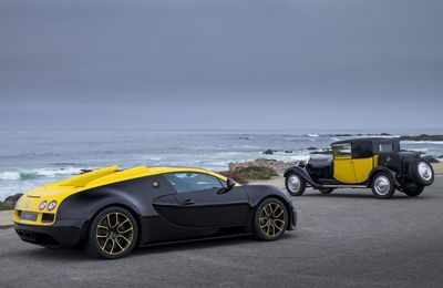 "Bugatti présente la Grand Sport Vitesse ""one of one"" à Pebble Beach"