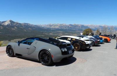 Bugatti au Sun Valley Road Rally 2014