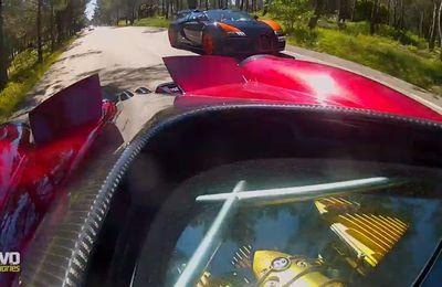 Bugatti Grand Sport Vitesse vs Pagani Huayra