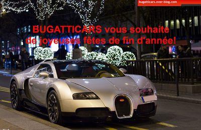 BugattiCars vous souhaite de joyeuses fêtes