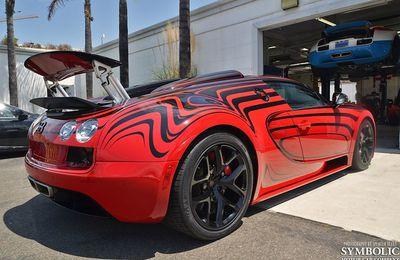 "Livraison de la Bugatti Grand Sport Vitesse ""Or Rouge"" en Californie"