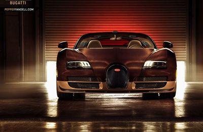 Photos de la Bugatti Grand Sport Vitesse Rembrandt