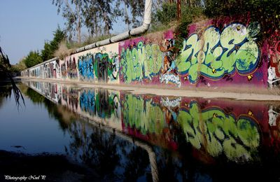 Graffitis et reflets /Graffiti reflections