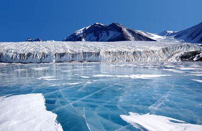 Ecologiel'inquiètude? la fonte du Glacier du Pin , hausse des niveaux des mers d'ici 2024