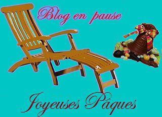 Blog en pause....................