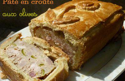 Pâté en croûte aux olives
