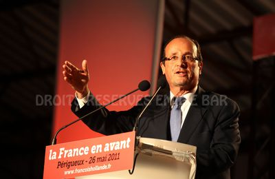 François Hollande, sans contestation