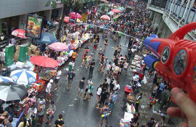 Songkran festival en Tailandia
