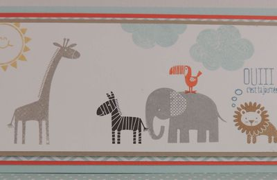 Zoo Babies - set de tampons Stampin'Up!