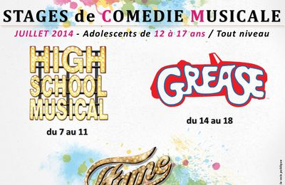 Stage de comédie musicale HIGH SCHOOL MUSICAL / GREASE et FAME pour Adolescents