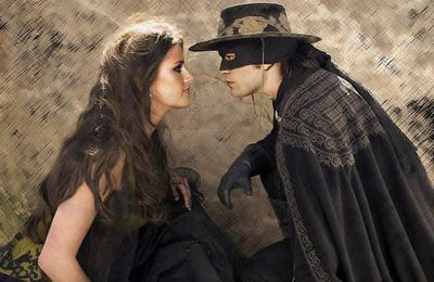 Kristen Stewart & Robert Pattinson version Zorro !