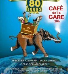 Le Tour du Monde en 80 jours au Café de la Gare