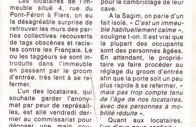 Racisme anti-Français dans l'Orne
