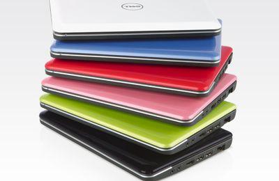 Un arc en ciel de couleurs et de technologies pour les netbooks Dell