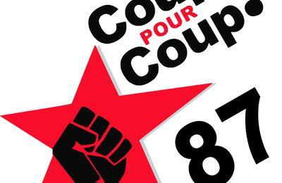 Naissance du collectif Coup Pour Coup 87 à Limoges!