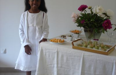 Menu de la communion d'Anissa 18 mai 2008