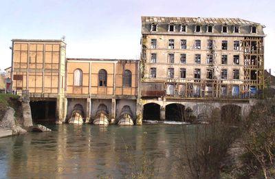 Patrimoine en danger : le moulin de Bar-sur-Seine.