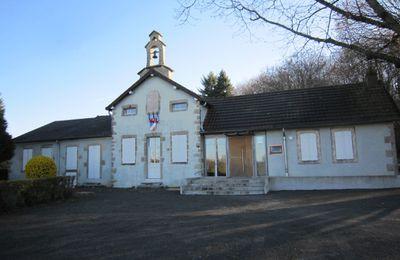La construction de l'école de Fragny