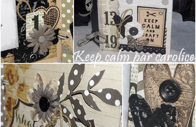 "Tutoriel du mini album ""keep calm"""