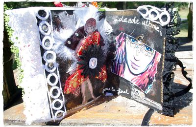 "Art journal - Etape n°9 "" le clou du spectacle"" et n°10 "" the end"""