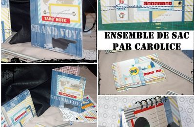 "Tutoriel "" ensemble de sac"""