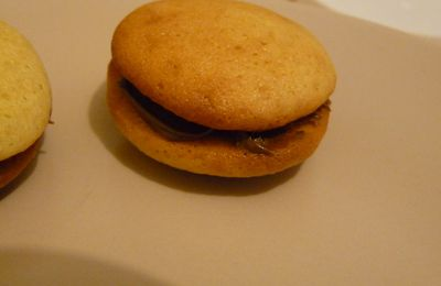 Whoopies au nutella