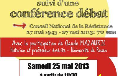 27 mai 1943 - 27 mai 2013 CNR 70 ANS