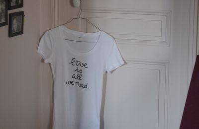 DIY... petit cadeau Black and White pour la Saint Valentin...