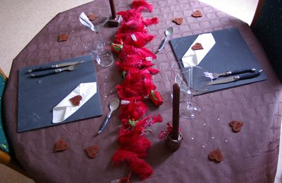 Table st valentin